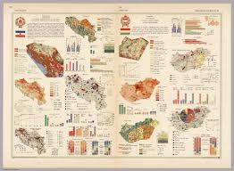 Yugoslavia Map Yugoslavia Hungary Pergamon World Atlas David Rumsey