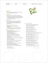 Work Study Resume Resume U2014 Monica Polii Graphic Designer