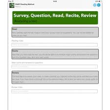 sq3r worksheet worksheets