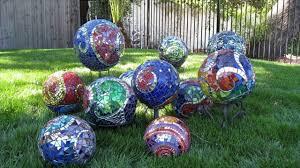 History Of Gazing Ball Creative Garden Balls Youtube
