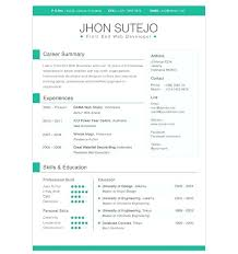 Resume Template Word 2007 Resume Format Free Download In Ms Word 2007 Layout Template