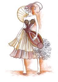 inspiring fashion sketches u0026 illustrations
