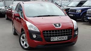 peugeot crossover used used 2011 peugeot 3008 sport hdi lovely metallic red with