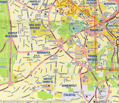 Jerusalem World Map by Jerusalem U0026 Holy Land Travel Map Itm U2013 Mapscompany