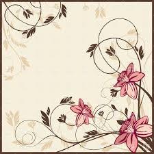 Background Invitation Card Floral Retro Style Invitation Or Greeting Card Background Vector