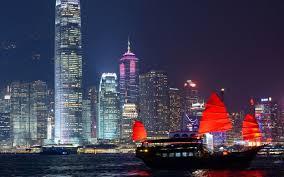 hong kong light show cruise sunset pre dinner cocktail cruise in hong kong harbour