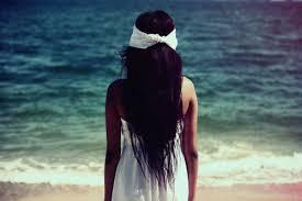 black hair for the beach beach beautiful black hair blue brown image 140116 on favim com