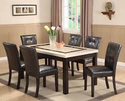 Stone Top Dining Room Tables For Exemplary Dining Table Wonderful - Granite top dining room tables