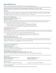 education resume objectives 2 teaching objective examples for te