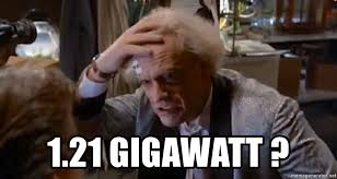 Doc Brown Meme - 1 21 gigawatt doc brown 1 21 gigawatts meme generator
