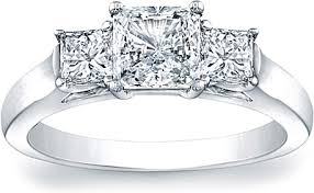 cut engagement ring three princess cut engagement ring scs1233b