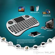 large key keyboards for android portable 2 4g rii mini i8 wireless keyboard mouse combo with