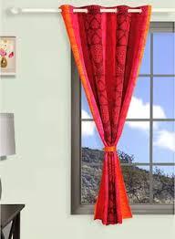 Swayam White N Pink Floral Swayam Curtains Online Buy Swayam Curtains Online In India