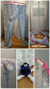 Pontoon Changing Room Curtain Diy Free Standing Changing Tent For Dance Using Hula Hoop Pvc