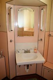 1930s Kitchen Sink Noelle U0027s 1930s Bathroom With Pink Panel Walls Retro Renovation