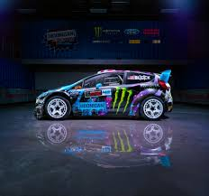 hoonigan cars ford fiesta rx43 2015 ken block hoonigan racing division rear