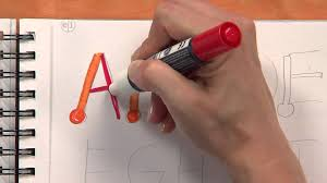 simple calligraphy tutorial for kids youtube