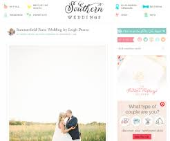 southern wedding planner leigh pearce events featured on southern weddings