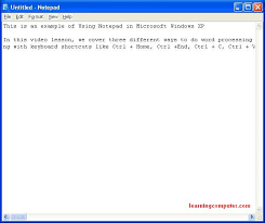 tutorial xp windows windows tutorial what is windows xp it computer training