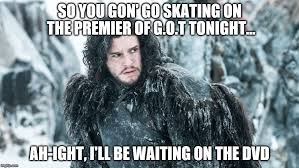 Meme Creator Winter Is Coming - image tagged in jon snow imgflip