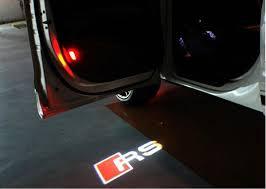 audi a6 b8 aliexpress com buy led door warning light with for audi logo