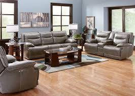 livingroom pc maverick 3 pc non pwr living room charcoal living room sets