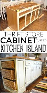 buy and build kitchen cabinets diy kitchen island from stock cabinets diy home pinterest