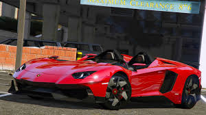 lamborghini aventador j 2012 lamborghini aventador j speedster add on gta5 mods com
