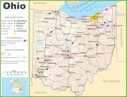Pennsylvania Highway Map by Ohio Highway Map
