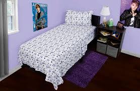 justin bieber bedroom set justin bieber concert bedding sheet set walmart com