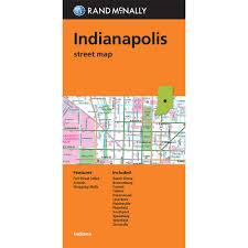 Maps Indianapolis Folded Maps Indiana