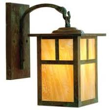 mission style outdoor wall light lowe s allen and roth vistora series 11 3 4 in bronze outdoor wall