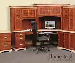 Custom Corner Desks Custom Built Hardwood Furniture By Homestead Furniture Made In Usa