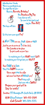 dr seuss twin birthday party party things twin boys and twin