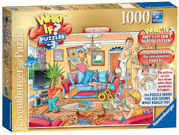 amazon com 1000 piece what if no3 home makeover puzzle toys u0026 games