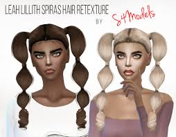sims 4 custom content hair the sims 4 custom content s4models