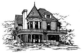 victorian style house plan 3 beds 2 50 baths 2400 sq ft plan 43 106