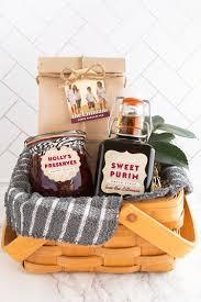 breakfast basket purim pancakes breakfast basket gift favor ideas from evermine