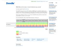 doodle pool scheduling tools doodle and more