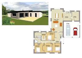 modele maison plain pied 4 chambres modele maison plain pied maison individuelle habitat concept 102