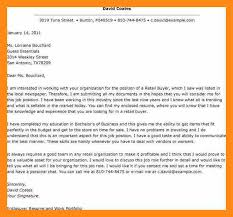 retail buyer cover letter sample cover letter for retail buyer