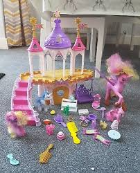 mlp wedding castle my pony mlp royal wedding castle playset with many extras