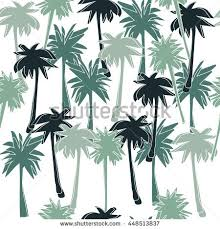 seamless pattern palm trees tropical motif stock vector 448513837