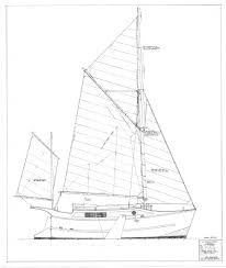 harry 26 u0027 sailing barge small boat designs by tad roberts
