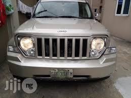 used jeep liberty 2008 neatly used jeep liberty 2008 silver for sale in port harcourt buy
