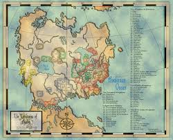 The 606 Map Maps Of The Known World Nero Larp