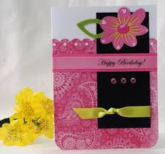 create a birthday card how to make handmade greeting card trendy mods