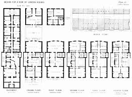 row house floor plan row house plans images best inspiration