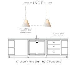 Kichler Island Lighting Two Light Island Pendant Kitchen Fixtures Canada Kichler
