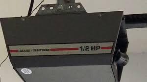 ideal sears 1 2 hp garage door opener craftsman model 53993 12 hp